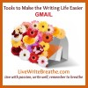 Tools to Make the Writing Life Easier: Gmail