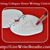Writing Critiques Versus Criticism