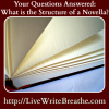 What is the basic structure of a novella?