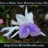 Make Your Writing Come Alive