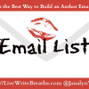 What is the Best Way to Build an Author Email List?