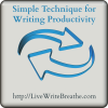 Simple Time Management Technique for Writing Productivity (Audio)
