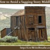 Sagging Middle Rx for Your Novel