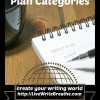 Create a Writing Business Plan Using Categories