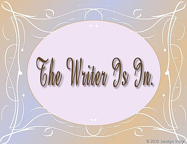 The Writer Is In Graphic