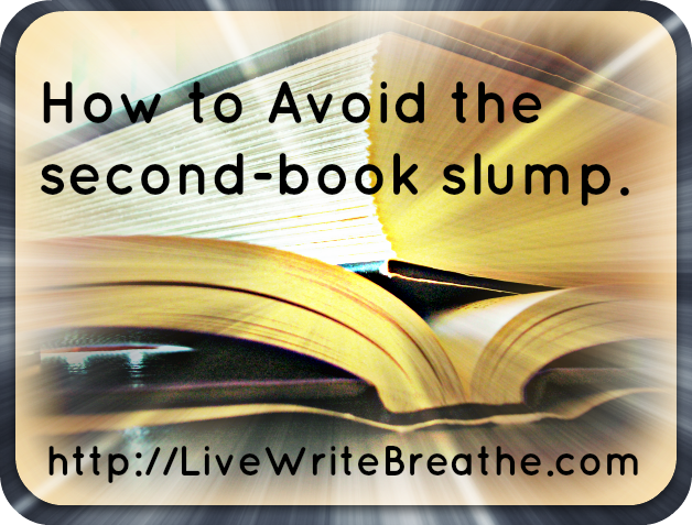 How to Avoid the Second-Book Slump