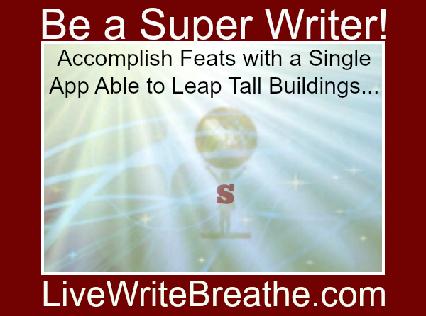 Be a super writer! Accomplish feats with s social media management app.