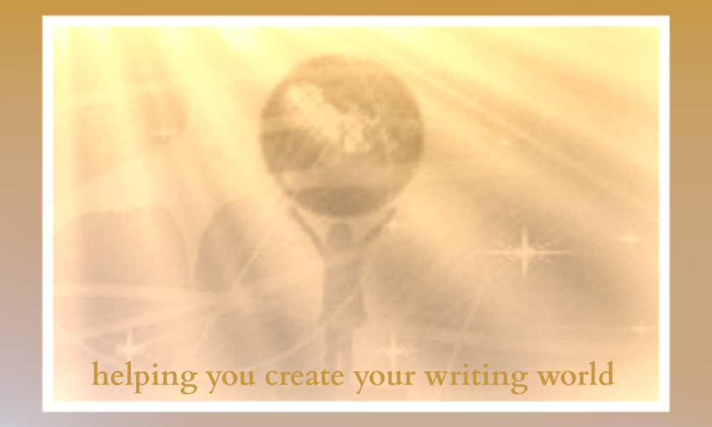 Helping writers create their writing worlds