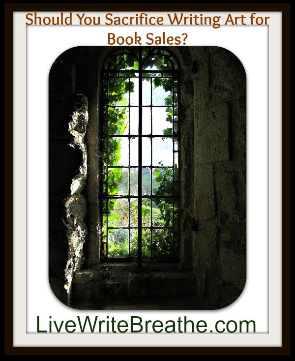Writing Art Versus Book Sales