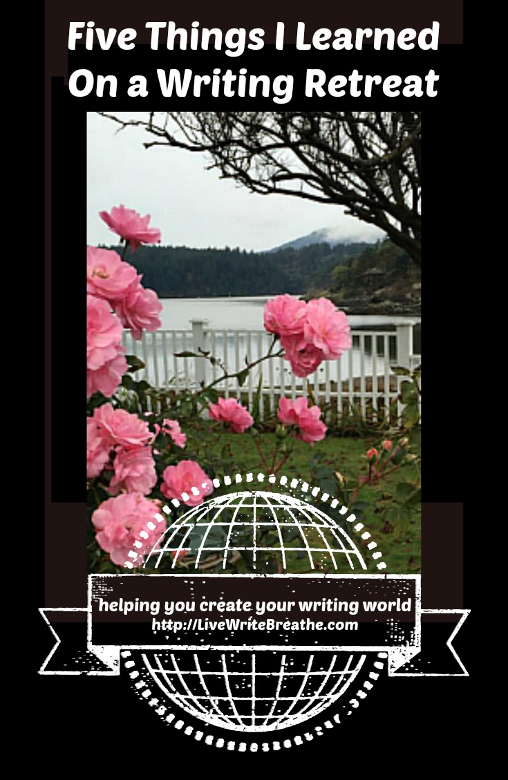 Writing Retreat Review (5 Things I Learned) via @JanalynVoigt   Live Write Breathe