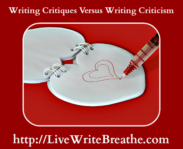 Writing Critiques Versus Writing Criticism by @JanalynVoigt