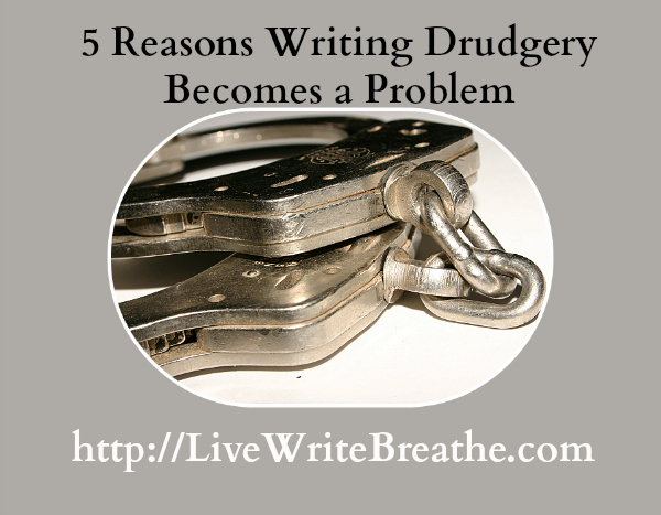 Writing Drudgery @JanalynVoigt