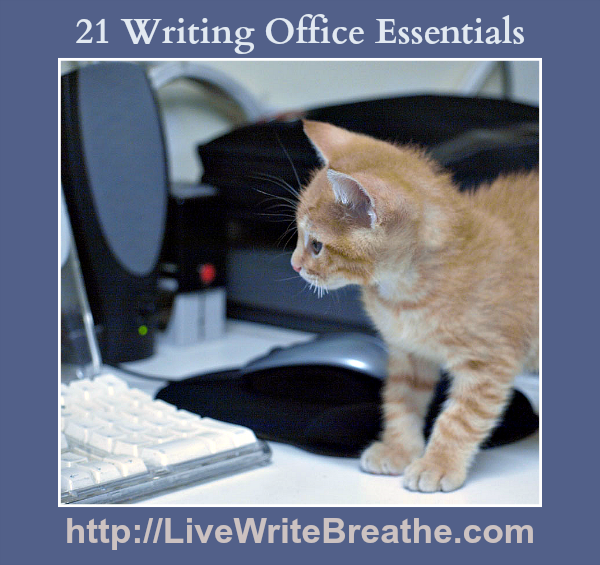 21 Writing Office Essentials @JanalynVoigt