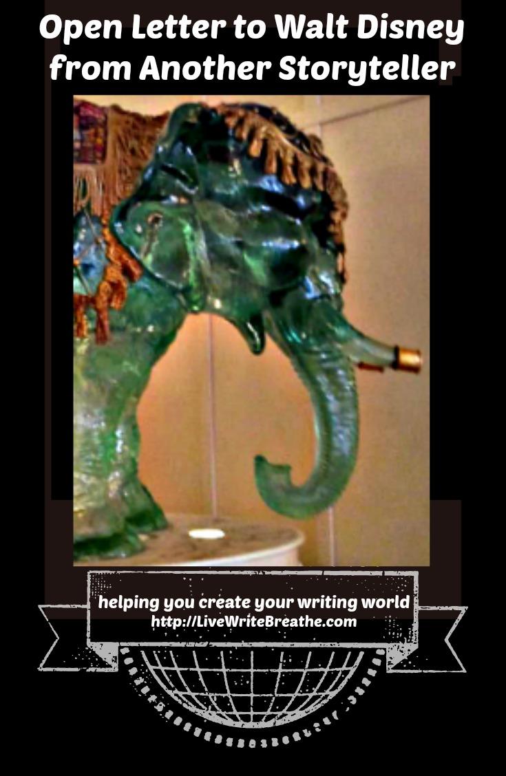 Open Letter to Walt Disney from Another Storyteller via Janalyn Voigt   Live Write Breathe