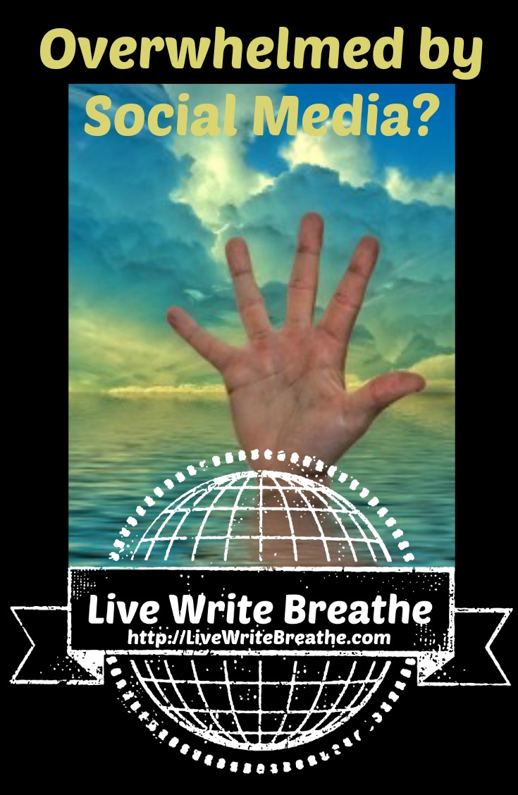 Overwhelmed by Social Media via Janalyn Voigt | Live Write Breathe
