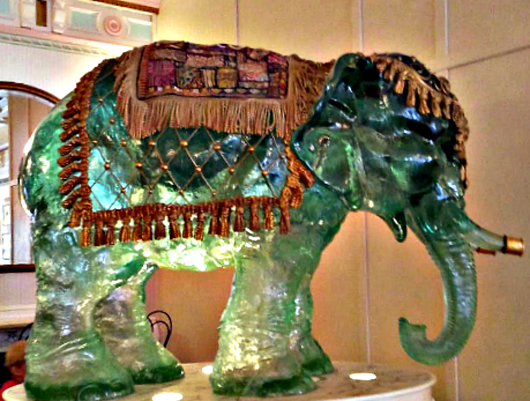 Story of the Glass Elephant in Disneyland