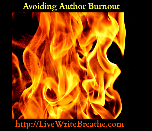 Avoiding Author Burnout via Janalyn Voigt for Live Write Breathe
