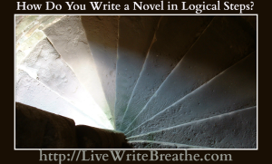 How do you write a novel in logical steps | Live Write Breathe