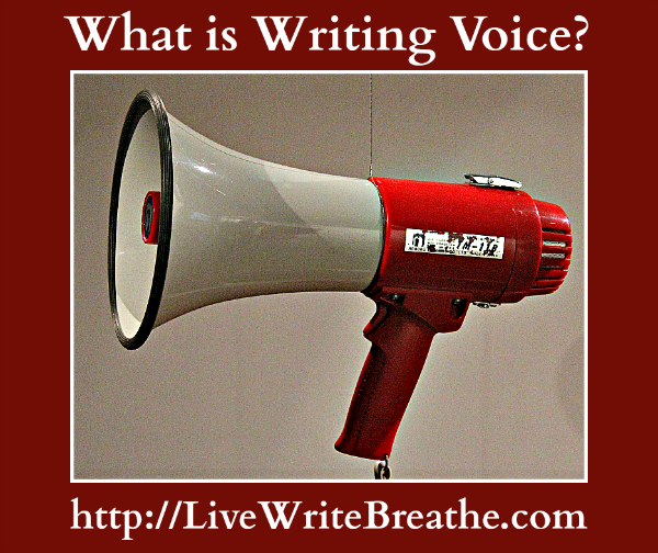 What is Writing Voice via Janalyn Voigt  Live Write Breathe