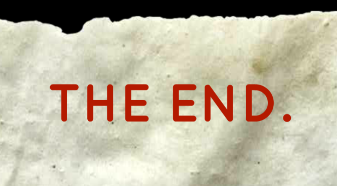 How to Write a Novel to the End