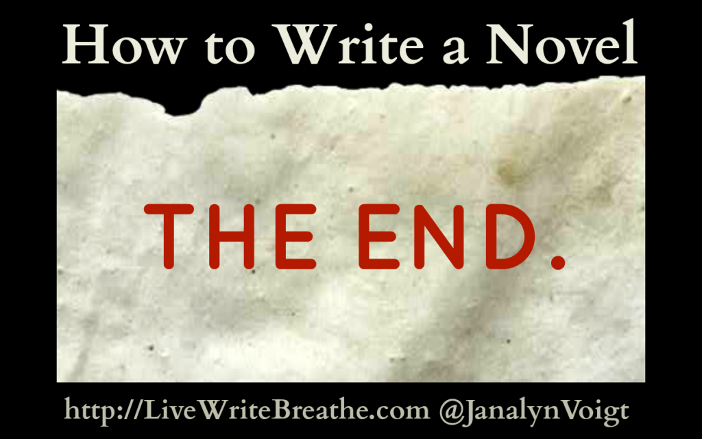 How to Write a Novel via Janalyn Voigt  | Live Write Breathe