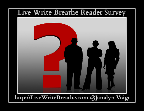 Live Write Breathe Reader Survey