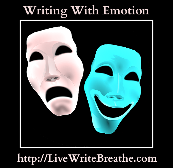 Writing With Emotion via @JanalynVoigt  Live Write Breathe