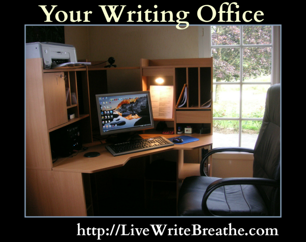 Your Writing Office via @JanalynVoigt | Live Write Breathe