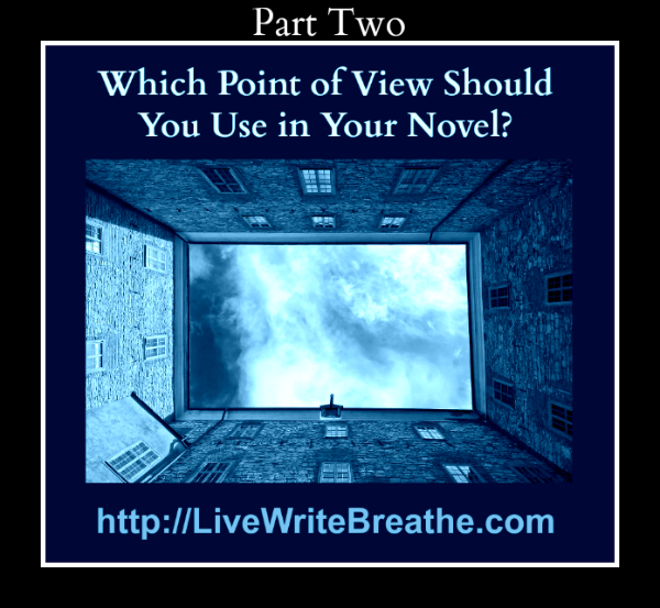 Which Point of View Should You Use in Your Novel Part 2 via @JanalynVoigt for Live Write Breathe