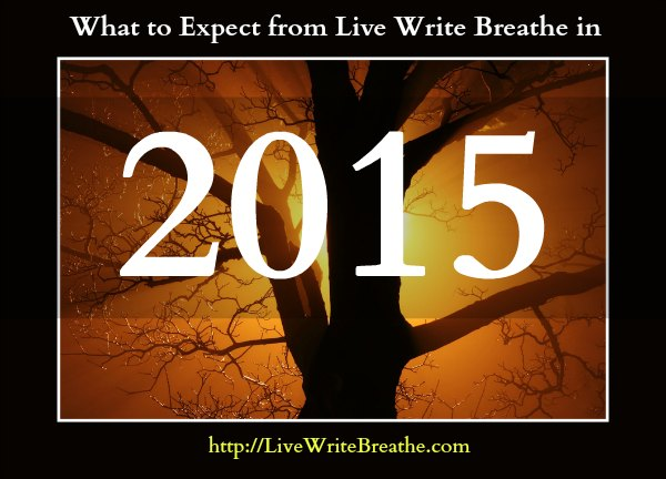 What to Expect in 2015 from Live Write Breathe via Janalyn Voigt