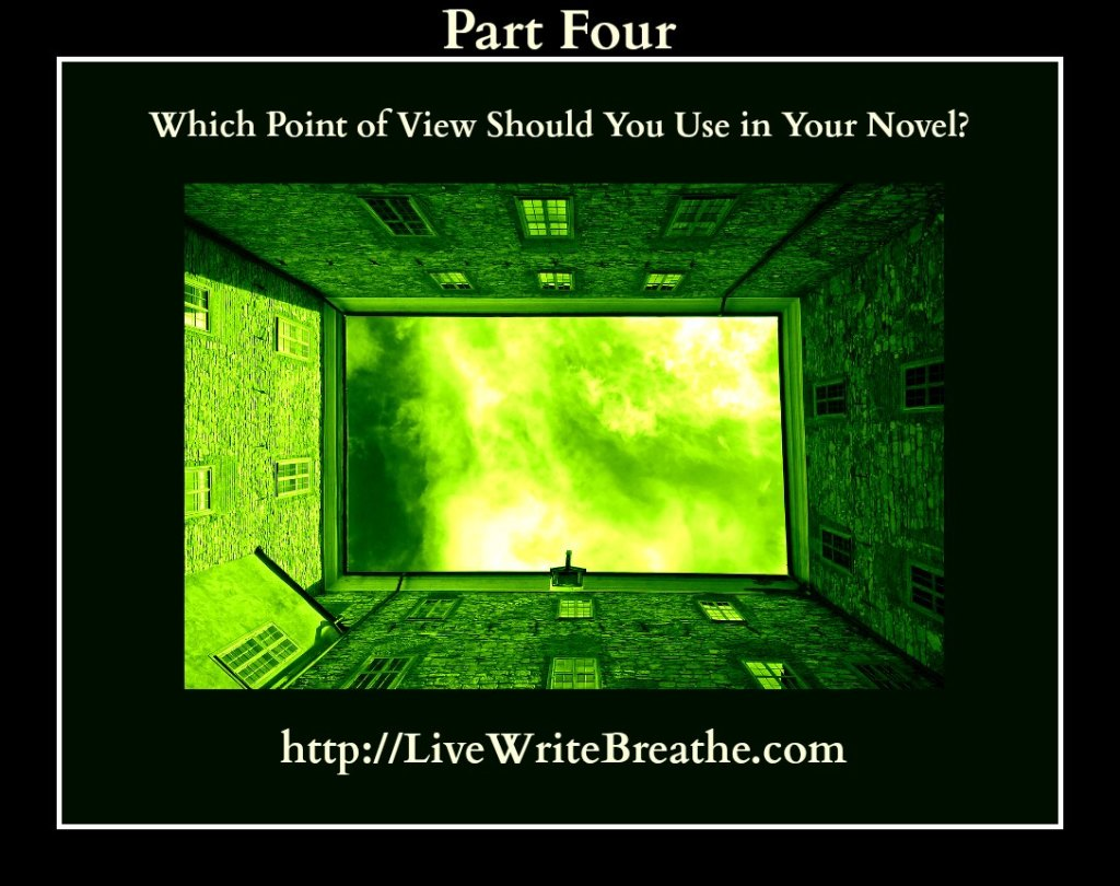 Which Point of View Should You Use in Your Novel via @JanalynVoigt | Live Write Breathe