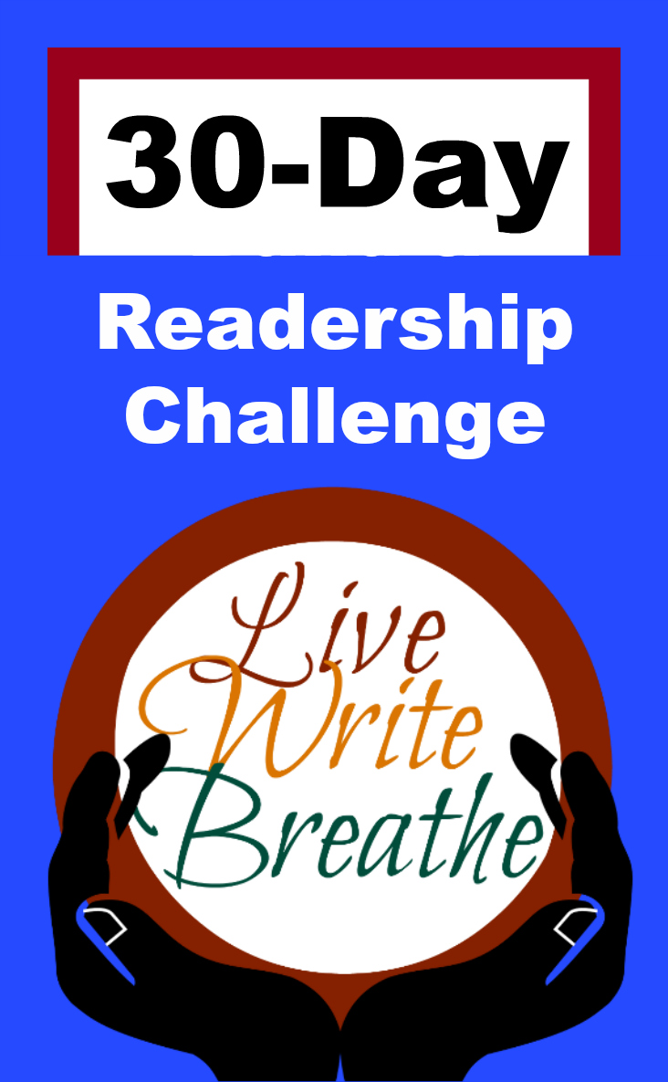 Live Write Breathe 30-Day Readership Challenge