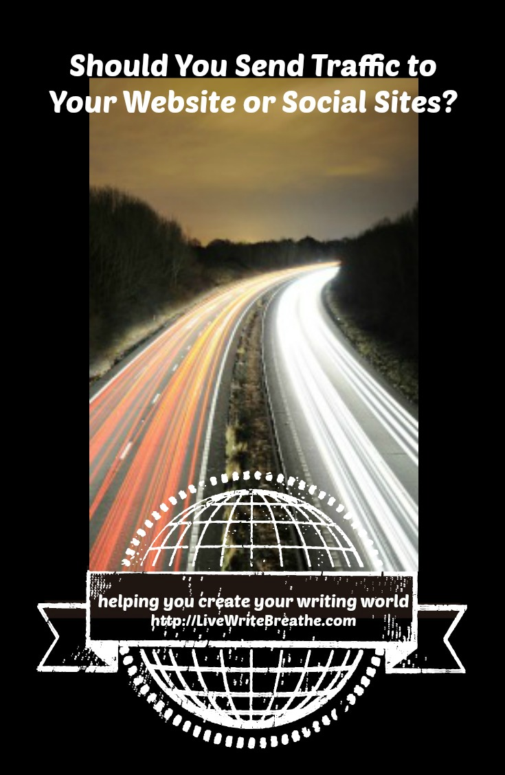 Should You Drive Traffic to Your Website or Social Site via @JanalynVoigt | Live Write Breathe