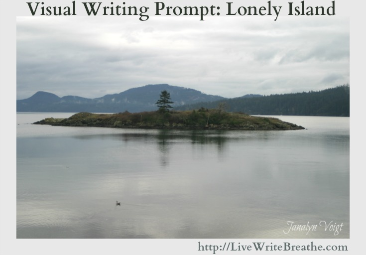 Visual Writing Prompt Lonely Island via @JanalynVoigt | Live Write Breathe