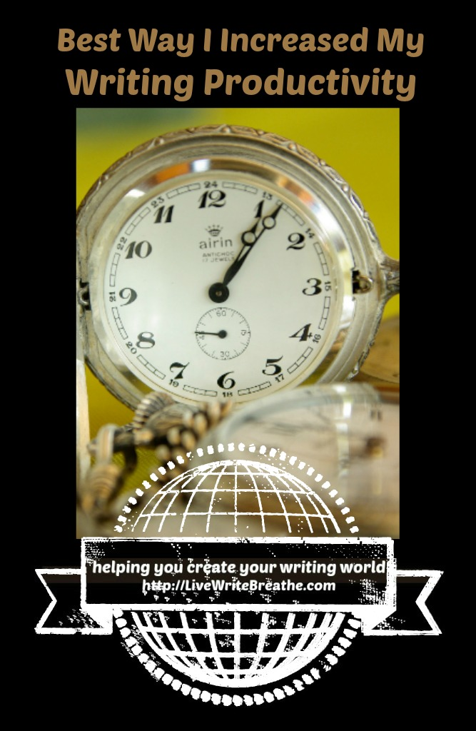 Best Way to Increase Writing Productivity via @JanalynVoigt | Live Write Breathe