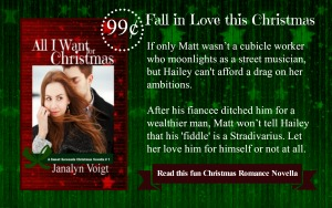 All I Want for Christmas by Janalyn Voigt