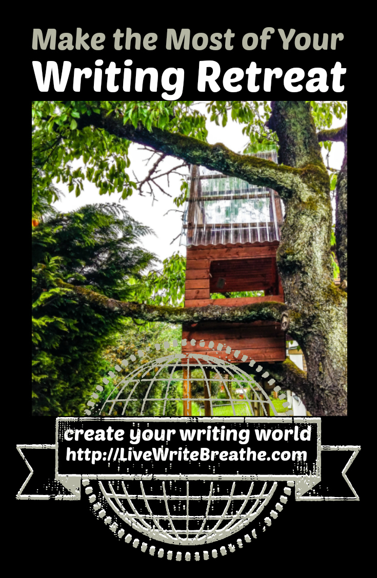 Make the Most of Your Writing Retreat via @JanalynVoigt | Live Write Breathe