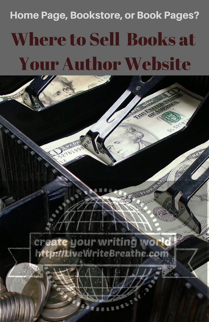 Where to Sell Books at Your Author Website via @JanalynVoigt | Live Write Breathe