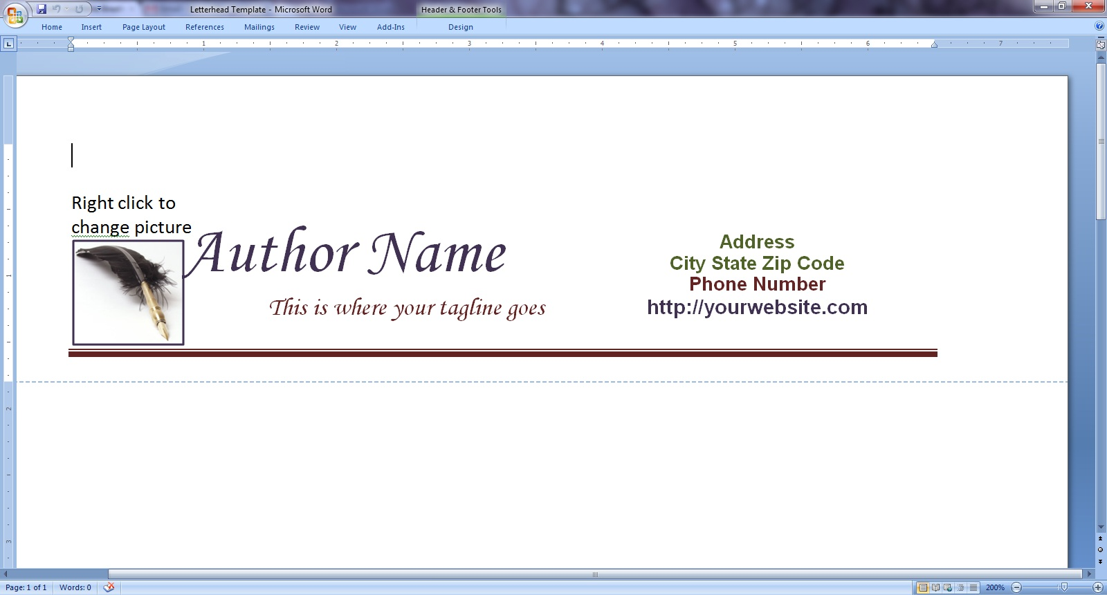 Free Letterhead And Query Letter Templates Live Write Breathe